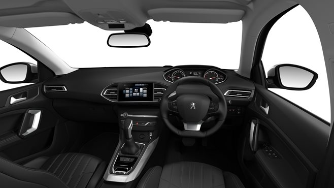 Peugeot 308 test drive review interior