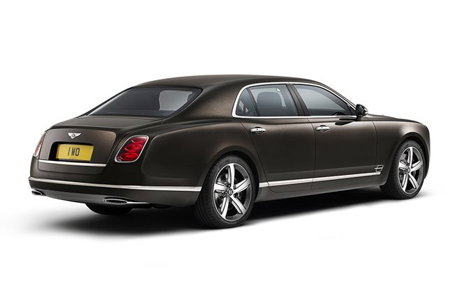 Bentley Mulsanne Speed reveal paris motor show