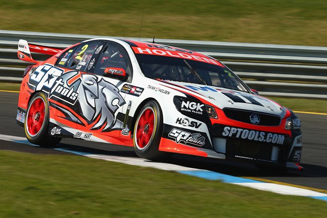 HRT V8 Supercars Holden Commodore