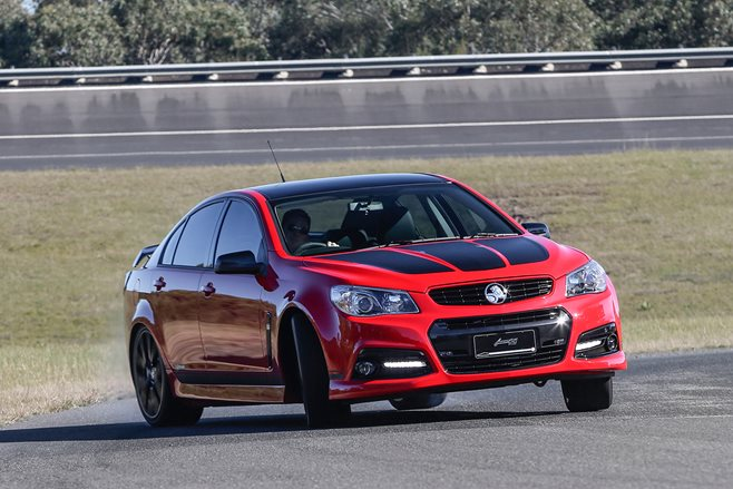 Holden Commodore VF MY15 update SS Redline Lowndes Commodore