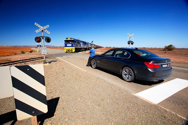 BMW 730d to the Birdsville races