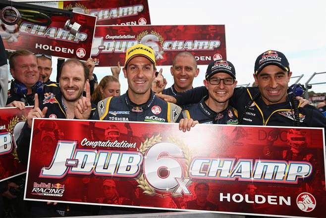 Jamie Whincup V8 Supercars