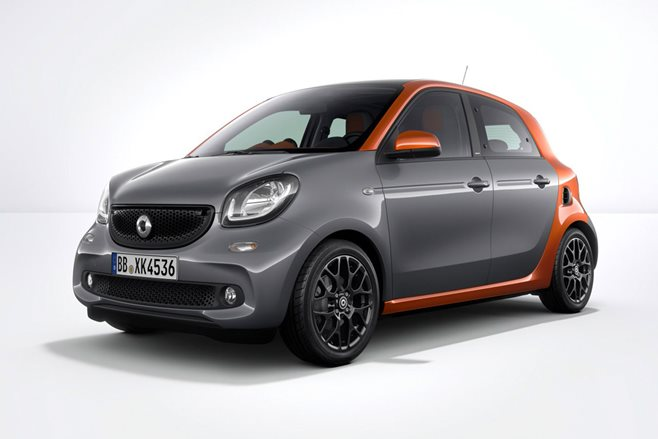 Smart ForFour review test drive