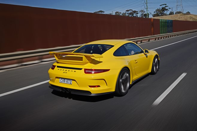 Porsche 911 GT3 review test drive