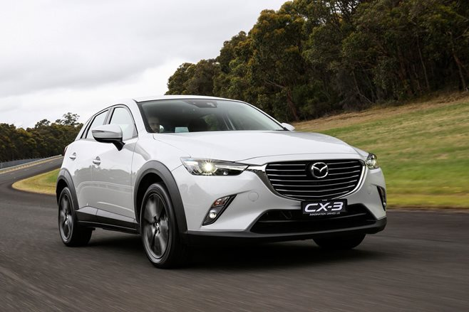 Mazda CX-3 review test drive