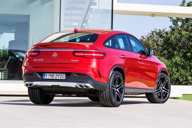 Mercedes-Benz GLE 450 rear