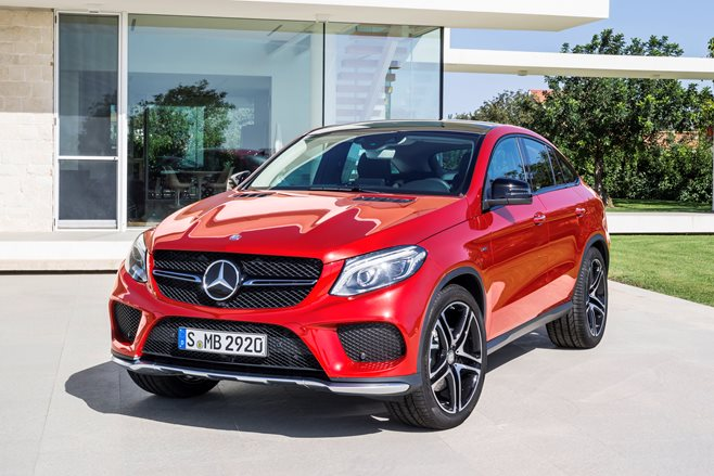 Mercedes-Benz GLE 450 front