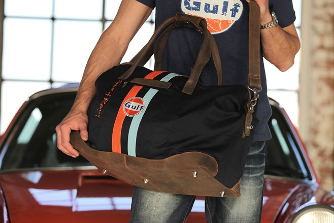 Gulf racing travelbag
