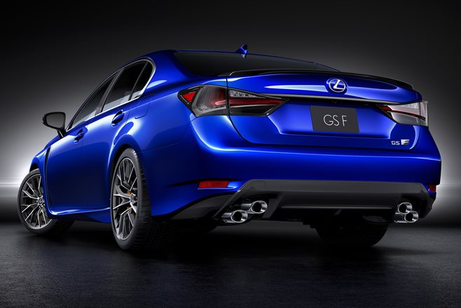 Lexus GS F 2015 rear