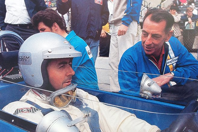 Ron Tauranac and Jack Brabham