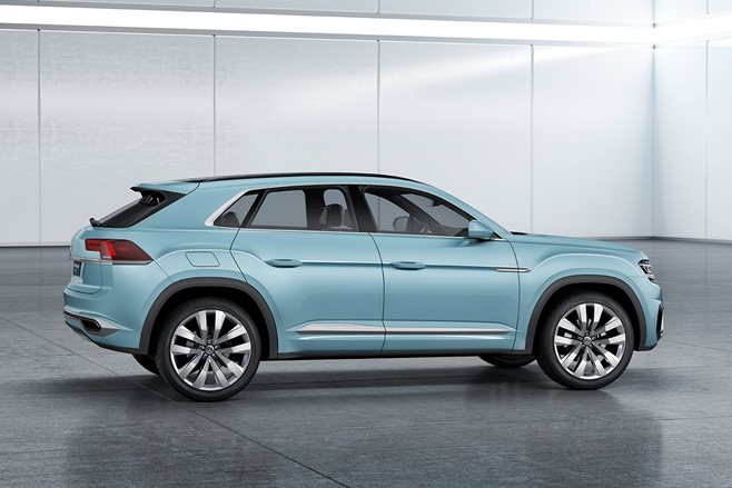 VW Cross Coupe GTE