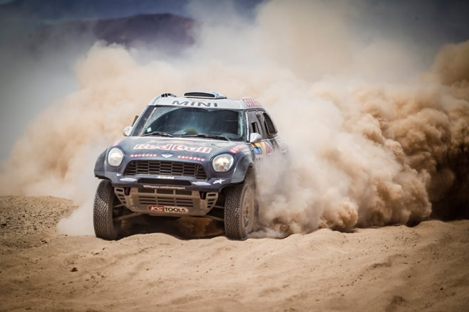 MINI dominates Dakar Rally
