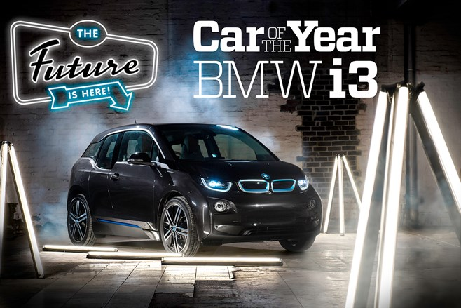 BMW i3 Wheels Car of the Year