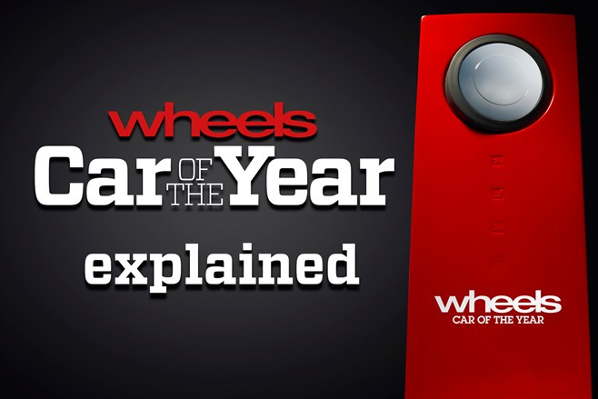 Wheels Car of the Year criteria