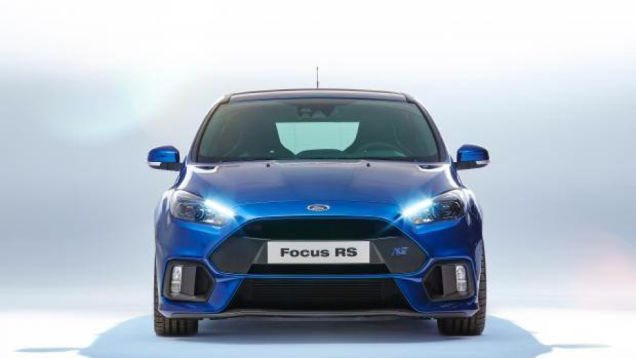 2016 Ford Focus RS leaked