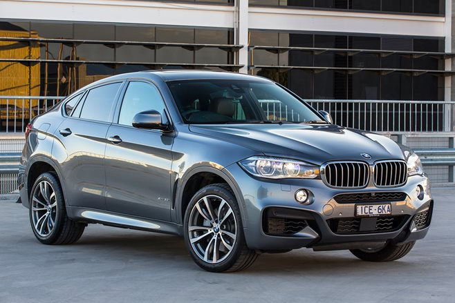 BMW X6 review test drive