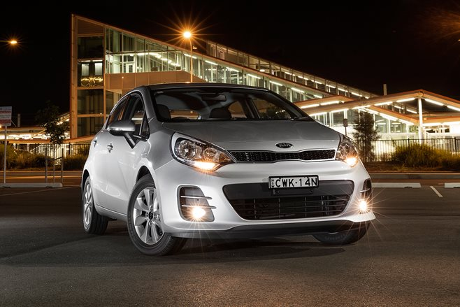 Kia Rio review test drive