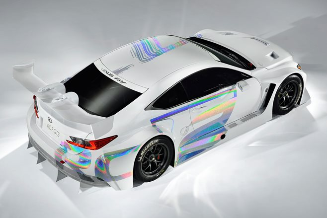 Lexus RC F race car