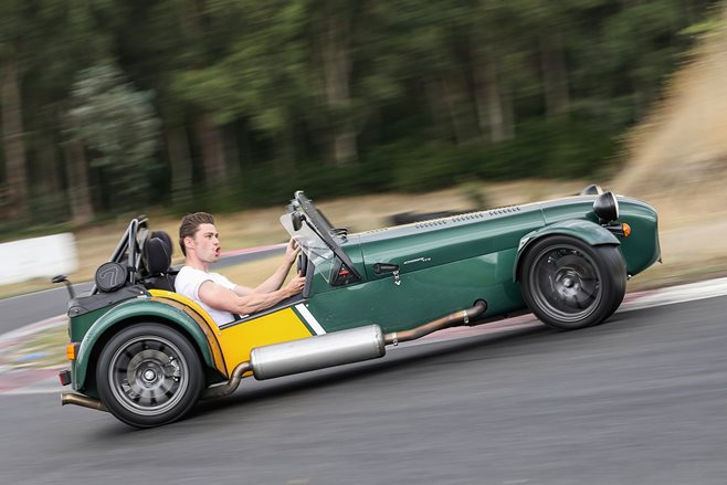 Caterham CSR175 review test drive