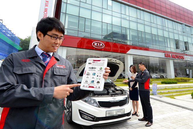 Kia capped price servicing