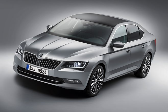 2015 Skoda Superb revealed 2
