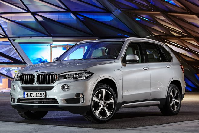 2016 BMW X5 plug-in hybrid First Official Pics