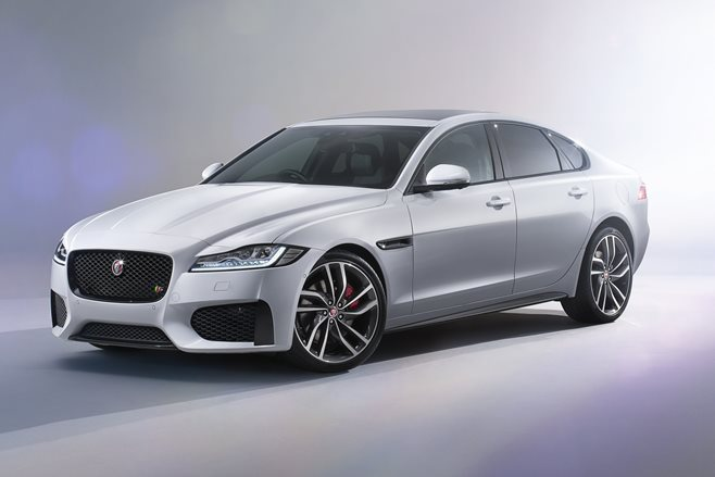 2016 Jaguar XF first official pics