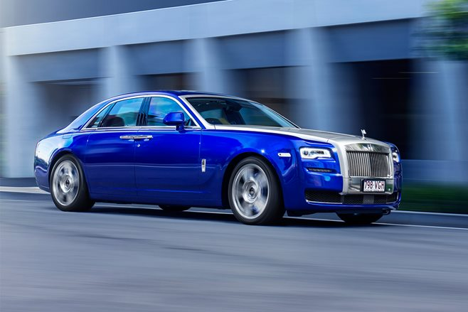 Rolls-Royce Ghost II review test drive