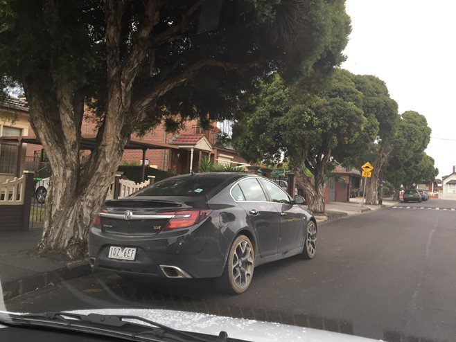 2015 Holden Insignia VXR spotted in Oz rear