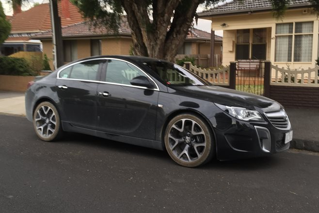 2015 Holden Insignia VXR spotted in Oz side