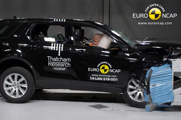 2015 Land Rover Discovery Sport ANCAP crash test