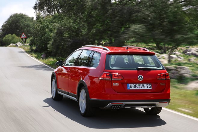 VW Golf Alltrack review