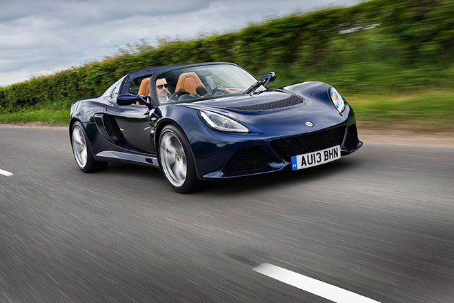Lotus Exige S roadster automatic