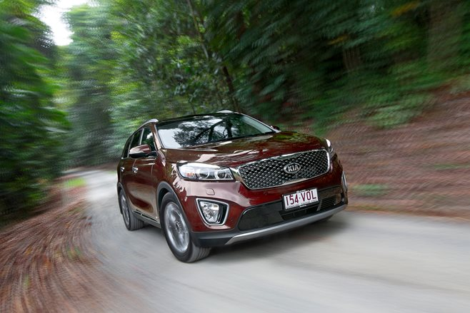 Kia Sorrento test drive review
