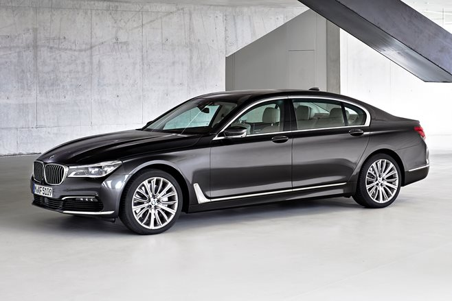 2015 BMW 7 Series first official pics
