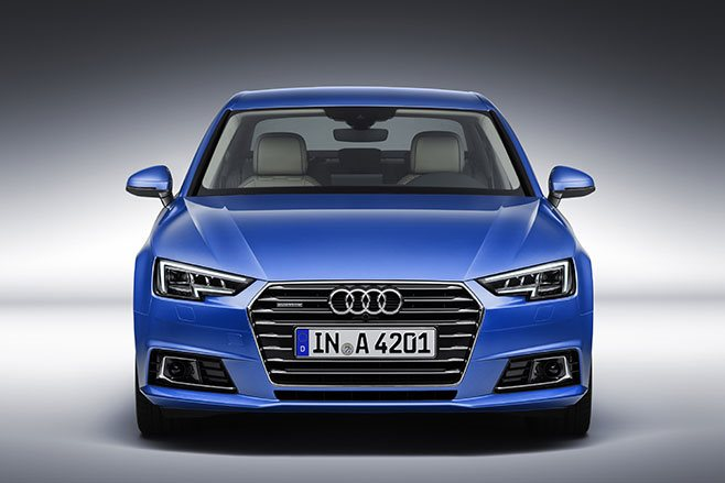 2016 Audi A4 first official pics