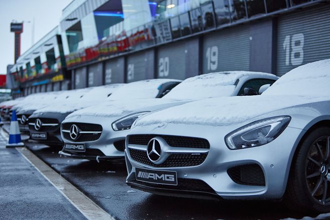 Mercedes-AMG drive day at Bathurst