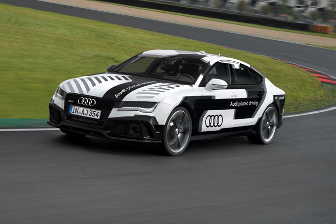 Audi RS7 Piloted Driving Car Concept