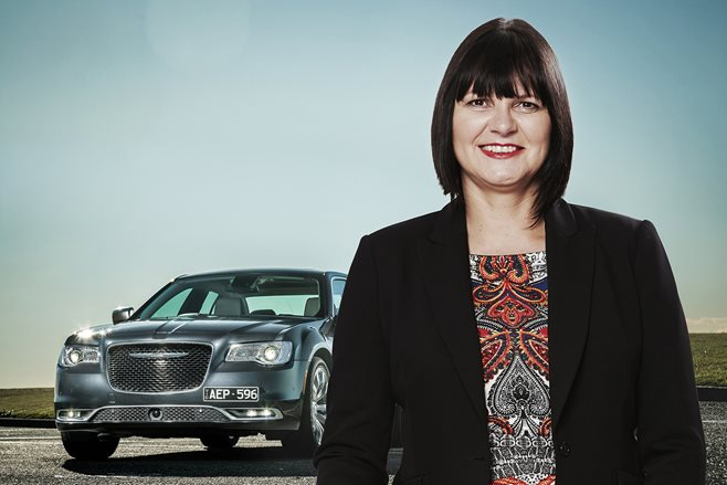 Former Fiat-Chrysler boss Veronica Johns
