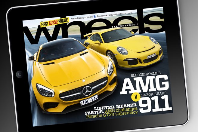 Wheels September 2015 Issue on Android Store
