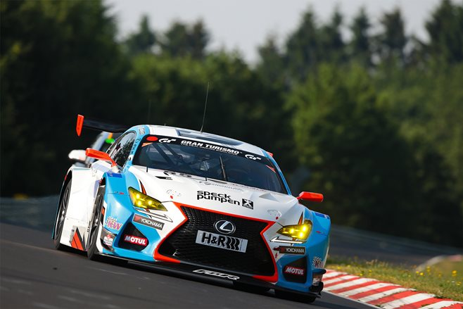 Lexus RC F Racing Car