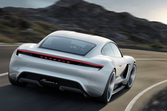 Electric Porsche Mission E