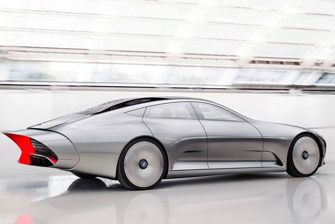 Mercedes Concept IAA shape-shifting coupe