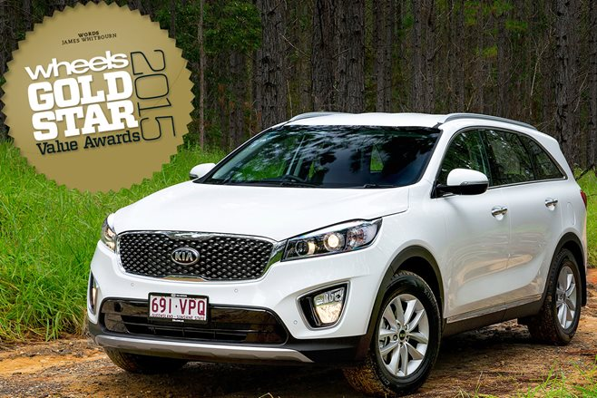 Medium SUV 7-seat under $60K: Gold Star Value Awards 2015