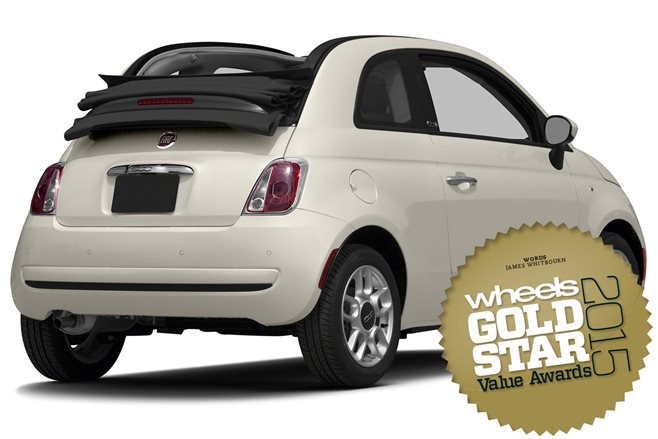 Convertibles under $60K: Gold Star Value Awards 2015