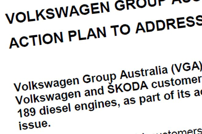 Volkswagen Australia's statement in full