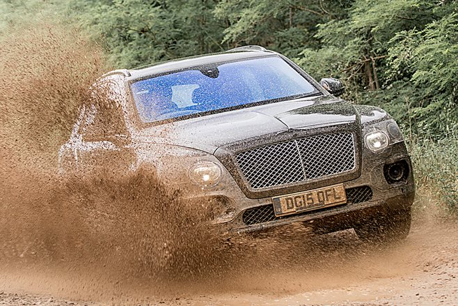 Bentley Bentayga aims for the top SUV spot