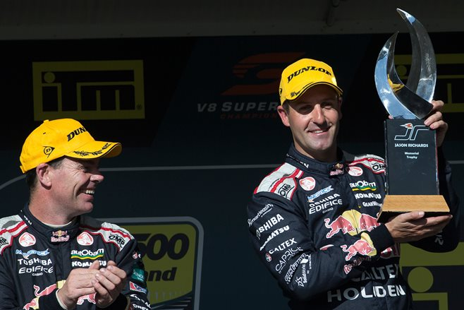 SIX-TIME Champion Red Bull Commodore driver Jamie Whincup