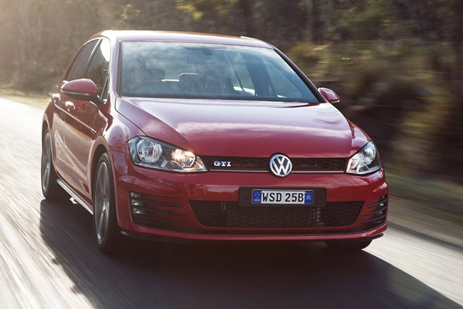 Volkswagen Golf GTI car