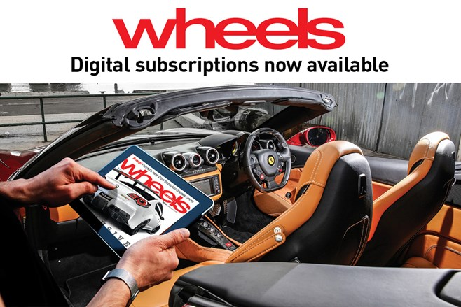Wheels magazine goes digital